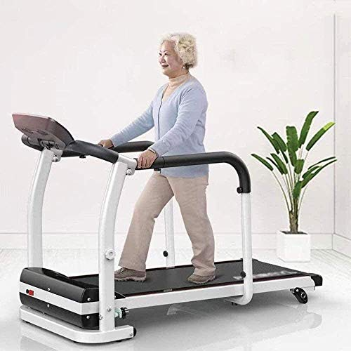 Tapis roulant per la piegatura a casa con tapis roulant in inclinazione coperta, casa per camminare per anziani, macchina per la riabilitazione del tapis roulant fitness esercizio arto recupero del re