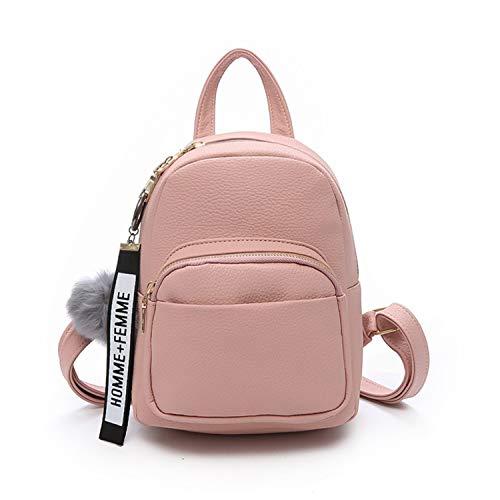 SURCHAR リュック レディース おしゃれ 大人 リュック 可愛い ミニリュック シンプル ミニ バッグ ファッション 4色 ピンク