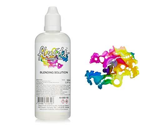 100 ml Fluids Alcohol Blending Solution, Extender, Solución de mezcla para tinta alcohólica