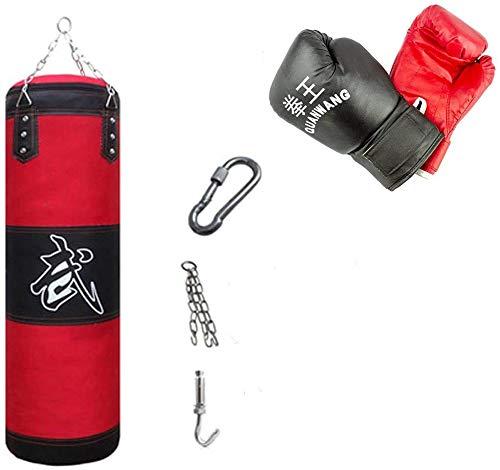 10749 Kit de boxeo todo en uno con guantes saco y gancho de...
