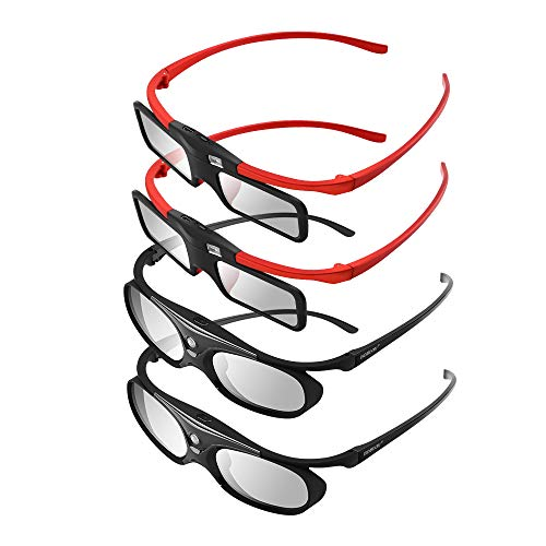 41LwHSoNSqL - The 7 Best 3D Active Glasses in 2020