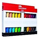 ROYAL TALENS Boite de 24 Peintures acrylique AMSTERDAM Introset III 20 ml