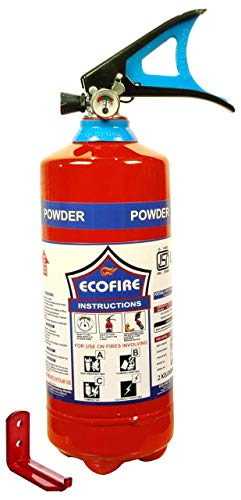 Eco Fire ABC Powder Type 2 Kg Fire Extinguisher (Red)
