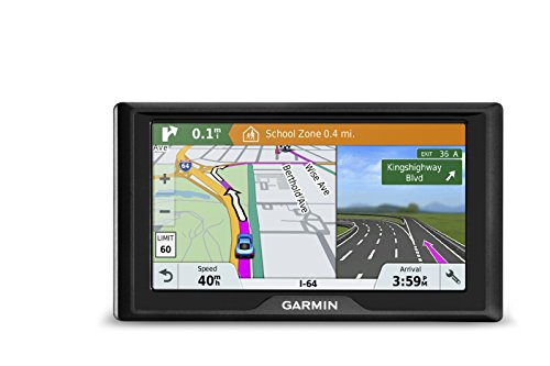 Garmin Drive 51 USA LM GPS Navigator System with Lifetime Maps, Spoken Turn-By-Turn Directions, Direct Access, Driver Alerts, TripAdvisor and Foursquare Data