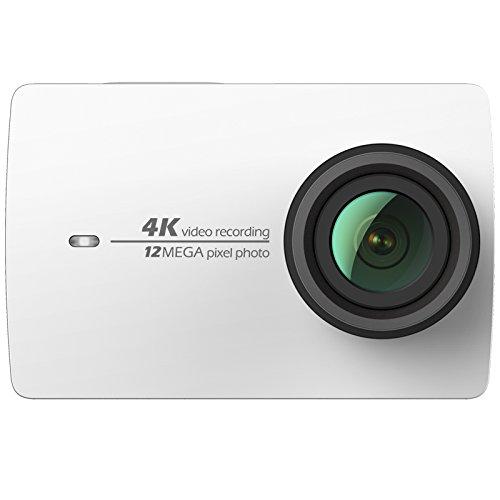 YI Action Camera 4K 30 fps Action Cam HD Fotocamera Digitale Bianca