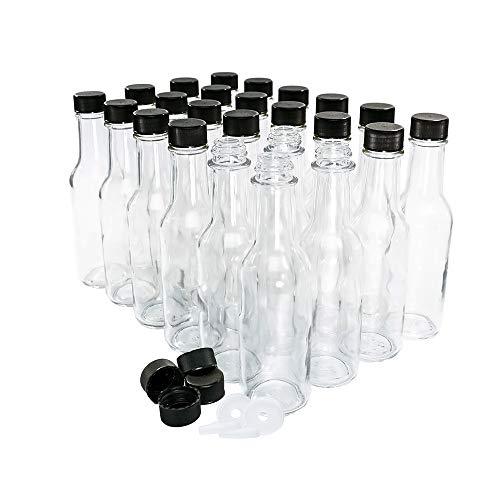5 oz. Clear Glass Bottle