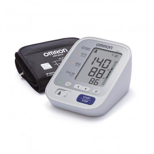 Omron M3 Misuratore di Pressione da Braccio Digitale, Sensore di Irregolarit Battito Cardiaco,...