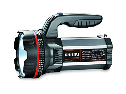 Philips Blaze Multi-Functional Long Range LED Torch with Rechargeable Emergency Light