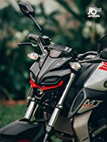 Suitable for Yamaha MT 15 Direct fit product Packing includes: 1 winglet (No additional fittings required) Made with ABS Plastic