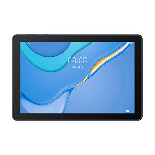 HUAWEI MatePad T 10 Tablet, Display da 9.7', RAM da 2 GB, Memoria Interna da 32 GB, Wi-Fi, Processore Octa-Core, EMUI 10 con Huawei Mobile Services (HMS), Dual-Speaker, Blu (Deepsea Blue)