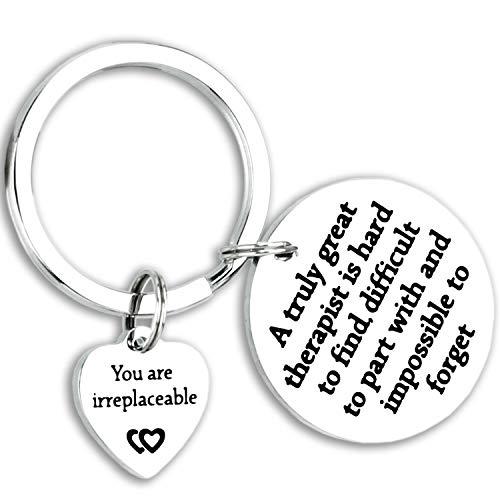 Kivosliviz Therapist Gifts Keychain Great Therapist...
