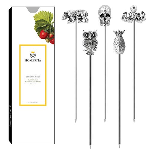 Stainless Steel Cocktail Toothpicks