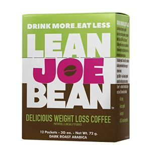 Lean Joe Bean Instant Coffee | from The Star Trainer on The Biggest Loser | Slimming & Detox Cleanse Blend | Keto Friendly Bulletproof Coffee | Dark Roast Arabica Coffee (12) 9 - My Weight Loss Today