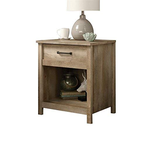 wooden nightstand with drawers