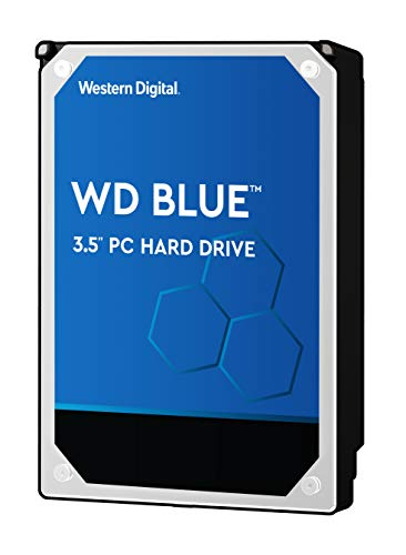 Western Digital WD40EZRZ Disco Duro de 4TB para PC de Computo Básico, Sata 3, 6 GB/s, 64 MB, 3.5', blue