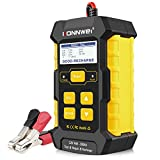 KONNWEI 3 in 1 Car Battery Charger, Car Battery Tester KW510 12V 5-Amp Fully Automatic Smart Charger Automotive Pulse Repair Maintainer, Trickle Charger Battery Desulfator w/Temp Compensation