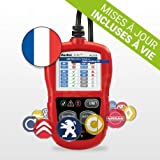 Autel Valise Diagnostic Auto AutoLink AL319 - Outil Diagnostic MultiMarques...