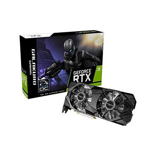 玄人志向 NVIDIA GeForce RTX 2070 SUPER 搭載 グラフィックボード 8GB デュアルファン GALAKURO GAMINGシ...
