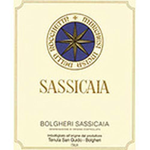 BOLGHERI SASSICAIA DOC 2015 TENUTA SAN GUIDO LT 0,750