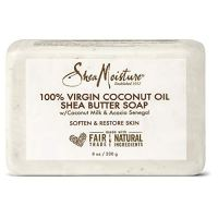 Sheamoisture Shea Butter Soap for All Skin Types 100% Virgin Coconut Oil Cruelty Free Skin Care 8 oz