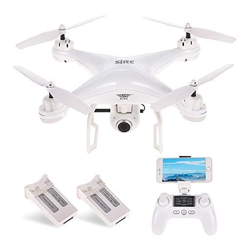 Goolsky SJ R/C S20W 1080P (GPS) FPV Regolabile 1080P HD Camera Wide Angle RTF Doppio GPS Posizionamento Altitude Hold Drone w / Due batterie
