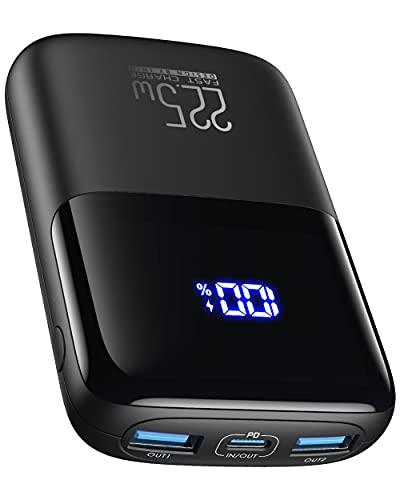 Power Bank, INIU Ultra Compact 10000mAh 22.5W PD...