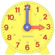 DHCHAPU Kinder Lerntafel Uhr Lernen Uhr Zeit Kinder Spaß Lernen Hilfe Lern