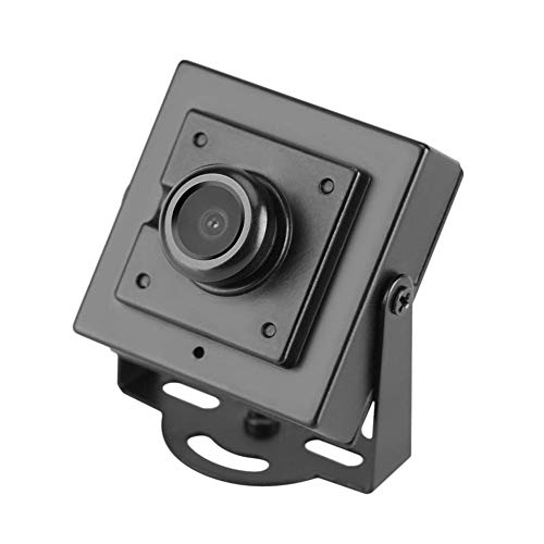 Hongzer Telecamera HD, Telecamera di videosorveglianza 700TVL Mini HD 170 ° Grandangolare 2.1mm Obiettivo Telecamera di Sicurezza Uso Interno di Un Ufficio di casa all'aperto