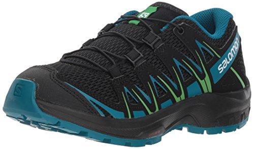 Salomon Enfant XA Pro 3D J, Chaussures de Trail Running, Noir/Bleu...