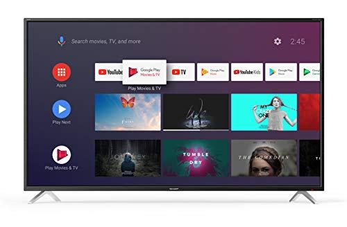Sharp Aquos 4T-C65BL2EF2AB - 65' Smart TV 4K Ultra HD Android 9.0, Wi-Fi, DVB-T2/S2, 3840 x 2160...
