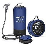 WADEO Outdoor Camping Douche 11 L Portable Sac de Douche à Pression Pliable Portable Douche de...