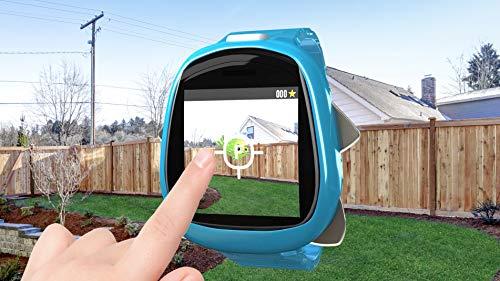 Image 10 - Little Tikes Montre connectée Robot Tobi pour les enfants, équipée d'une caméra digitale, d'une vidéo, de jeux & activités pour garçons et filles – Bleu. Dès 4 ans et +