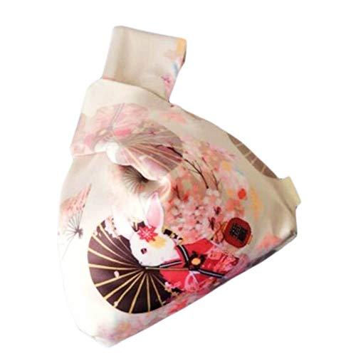 Wukong Paradise Bolso nudo de kimono japonés Totes Wallet Satchels Bolsa de playa Tamaño pequeño-A21
