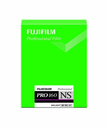 FUJIFILM カラーネガフイルム(プロフェッショナル用) フジカラー PRO 160 NS シート 20枚 本 CUT PN 160 NS 4X5 20