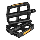 BV Bike Pedal Set, Bicycle Pedals, 9/16-Inch Boron Steel Spindle, Pair