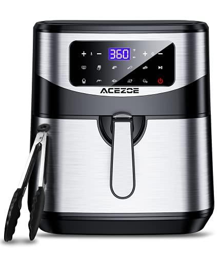 7.4 Qt Air Fryer, Acezoe Electric Air Fryers XL Hot Oven 1700W Oilless Cooker LED Touch Screen…