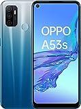 """Oppo A53S – Pantalla de 6.5"""" (Neo-Display de 90Hz, 4GB/128GB, Snapdragon 460, 5000mAh, Carga Rápida 18W, Dual Sim) Azul [Versión ES/PT]"""