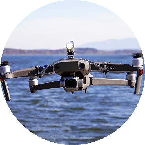 Notte Volo LED faro (Mavic Pro Drone)360Lumen, Luce Bianca (FPV illuminazione), inclinabile di 45,...