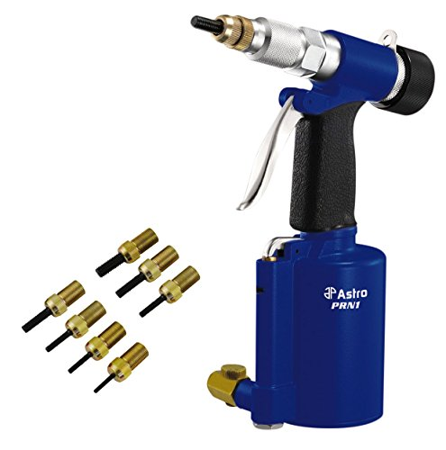 Astro Pneumatic Tool PRN1 Metric & SAE 3/8' Capacity Pneumatic Rivet Nut Setting Kit