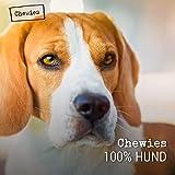 Chewies Fleischstreifen MAXI Hundeleckerli aus 100 % Rindfleisch - 150 g - luftgetrocknete Rinder Kaustreifen für Hunde - zuckerfrei & getreidefrei - Dörrfleisch vom Rind - 5