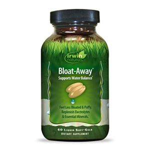 Irwin Naturals Bloat-Away - Water Balance Support - Replenish Electrolytes & Essential Minerals - 60 Liquid Softgels 13 - My Weight Loss Today