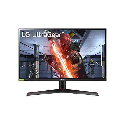 LG QHD Monitor 27' Ultragear LED (2560 x 1440) IPS Display, 99% Color Accuracy, Adjustable, Gaming, NVIDIA G-Sync, FreeSync, Dynamic Sync - Black