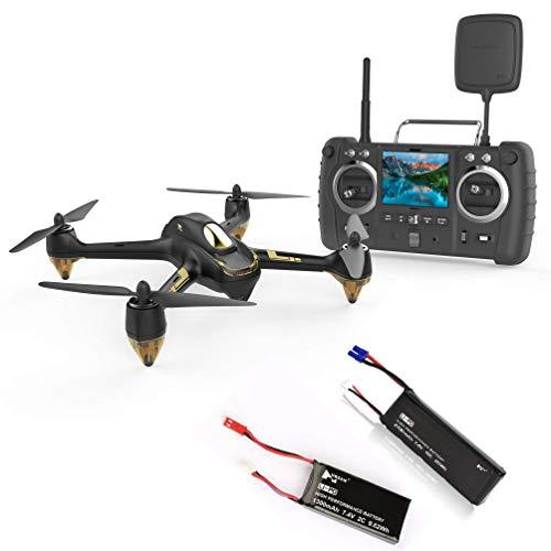 Hubsan H501S X4 PRO Brushless FPV Droni Quadricotteri GPS Fotocamera 1080P HD 5.8Ghz Headless Follow Me GPS Hold Altitude con H906A Telecomando