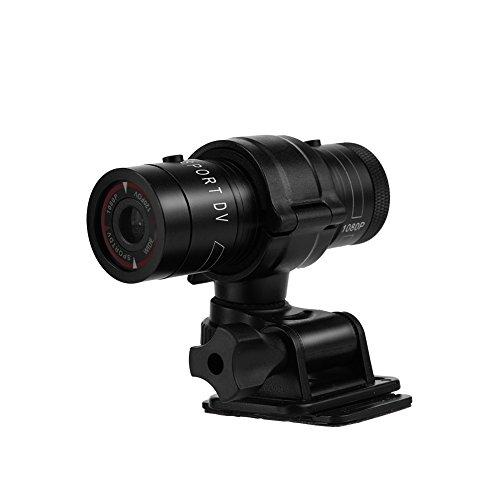 Mini videocamera Portatile Impermeabile Full HD 1080P, Sportiva DV di Azione del Casco della Bici...