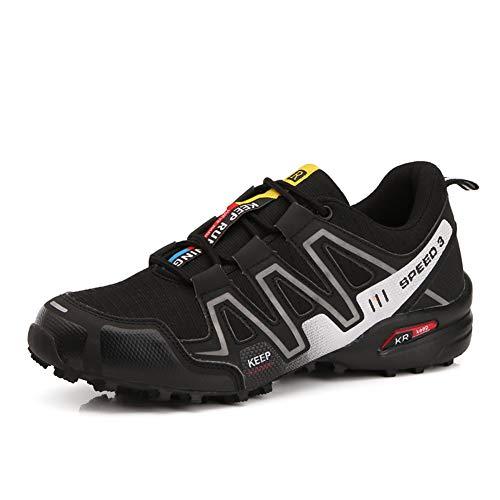 Scarpe da Montagna Uomo Scarpe da Trekking Traspirante Scarpe da Escursionismo Antiscivolo Scarpe da...