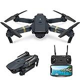 EACHINE Drone Pliable E58 Drone avec caméra 2.0MP 720P HD【Vive la France!】...