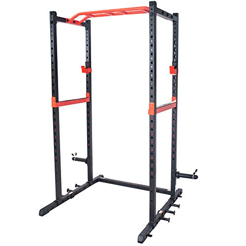 Sunny Health & Fitness Power Zone Strength Rack Power Cage -...