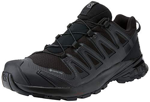 Salomon XA Pro 3D V8 W, Zapatillas de Trail Running y Senderismo Mujer, Negro (Black/Black/Phantom), 38 2/3 EU