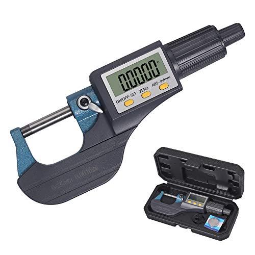 Neoteck 0-1' Digital Micrometer, Resolution...