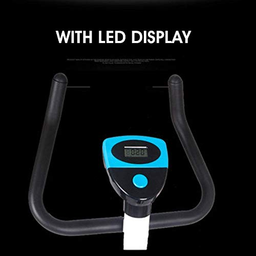 YFFSS Exercise Bikes, Adjustable Exercise Bike, LED Display Seat, Fitness Pedal, Dynamic Bicycle, Indoor Weight Loss, Aerobic Exercise, Fixed Fitness 6